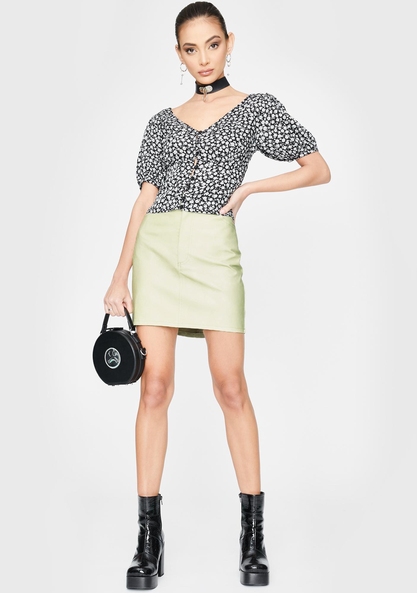 Motel Mori Mini Skirt