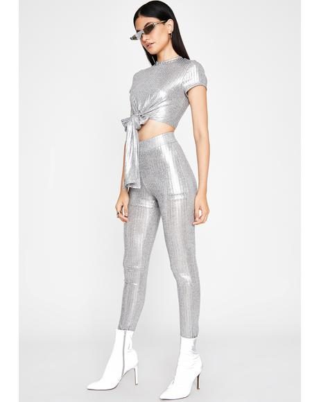 Platinum Princess Legging Set