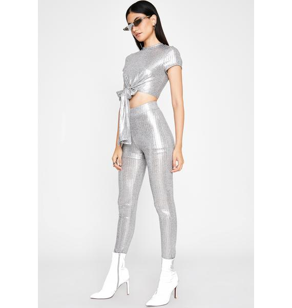 Platinum Princess Legging Set