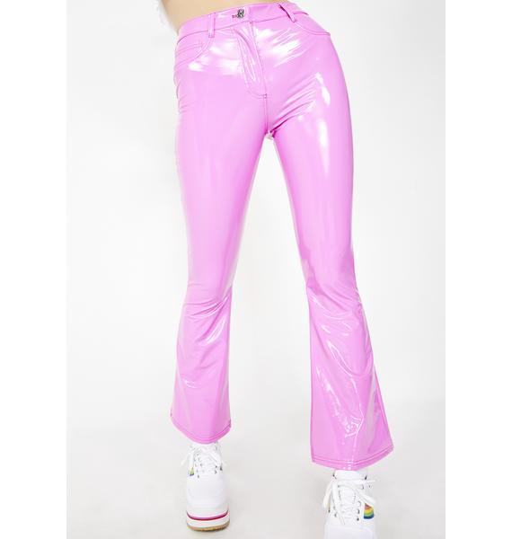 dELiA*s by Dolls Kill Candy Rush PVC Pants