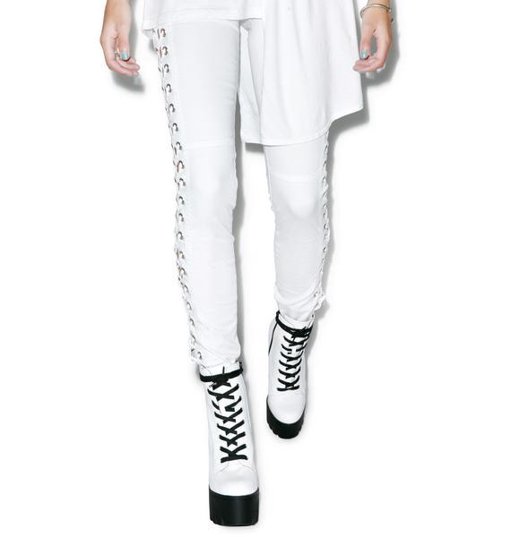 Tripp NYC She Devil Side Lace Pants