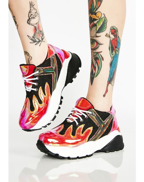Blaz3 Platform Sneakers