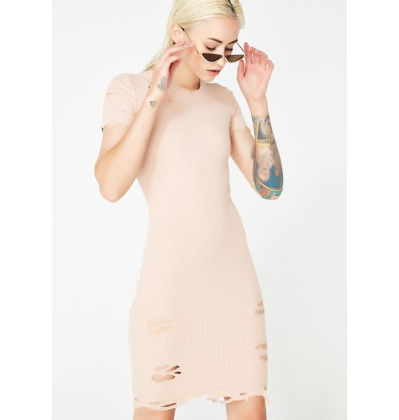 Kiki Riki Natural Pack Leader Distressed Dress