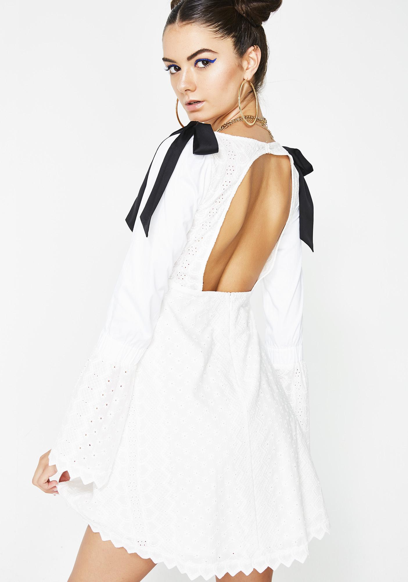 1c347d15dd8 ... For Love   Lemons Charlotte Eyelet Babydoll Dress