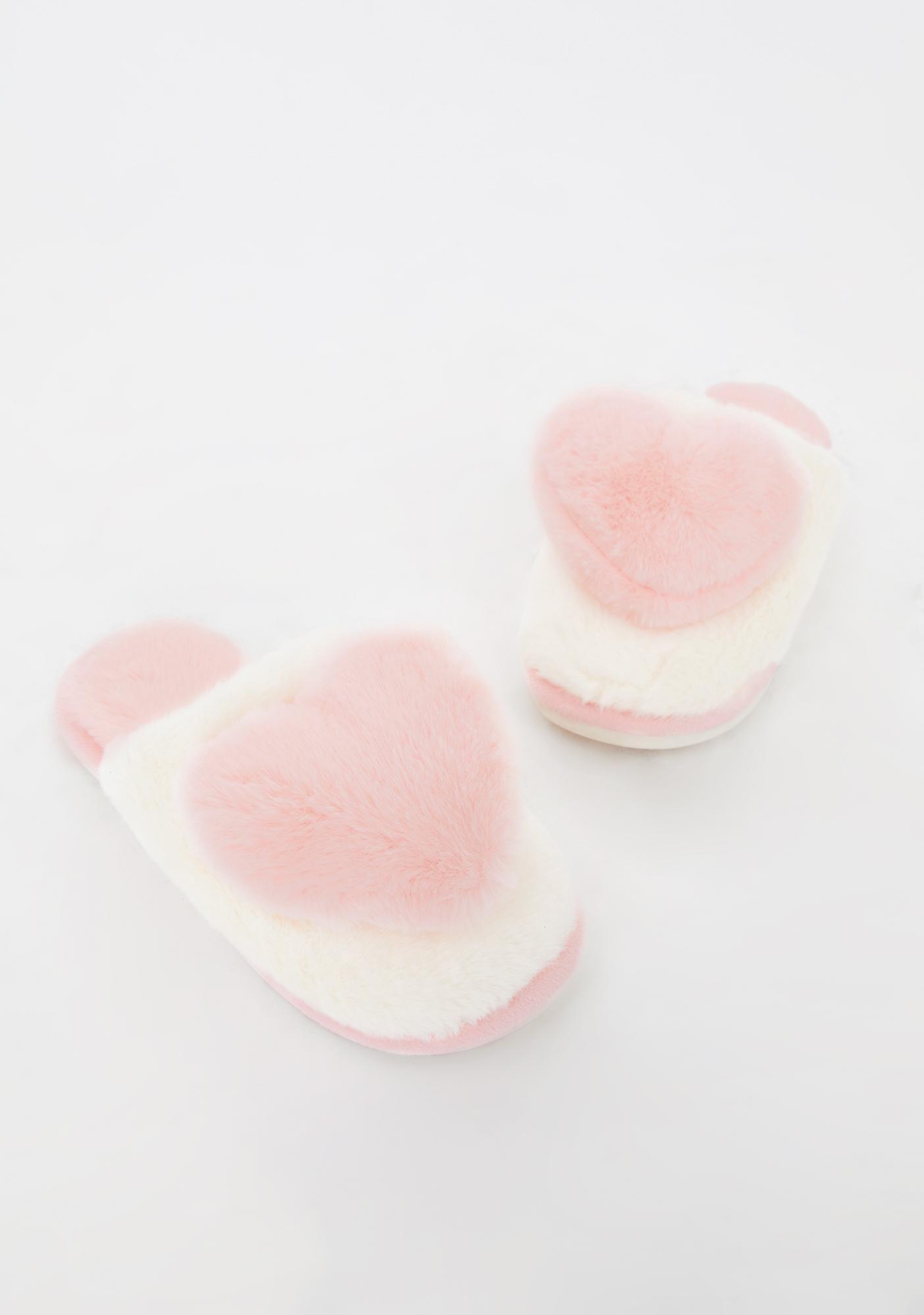 Spoiled Rotten Plush Slippers