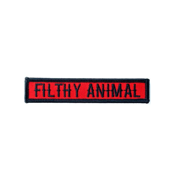 Sourpuss Clothing Filthy Animal Patch