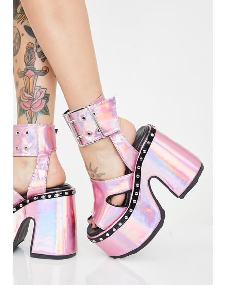 Pixie Soul Crushin' Platform Heels