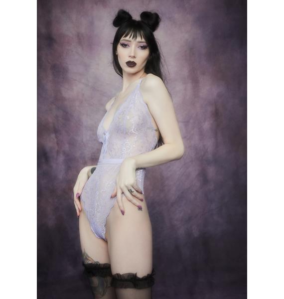 Widow Fairy Glen Lace Up Bodysuit