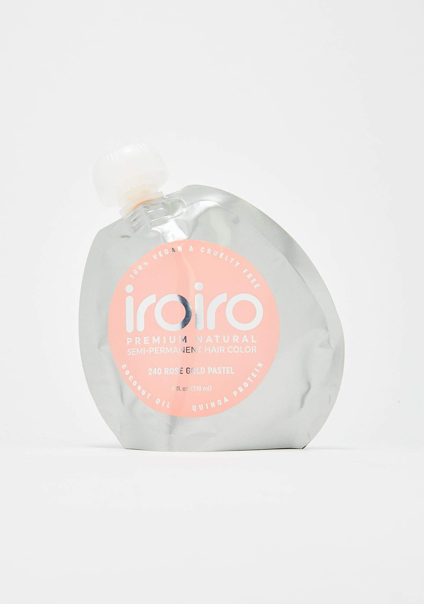 Iroiro Pastel 240 Rose Gold Hair Dye