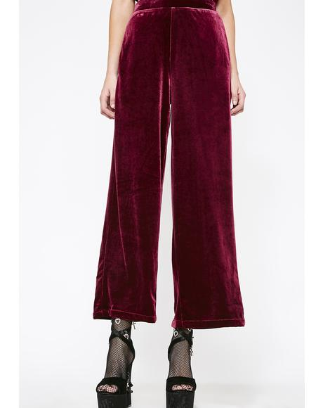 Blessings On Blessings Velvet Pants