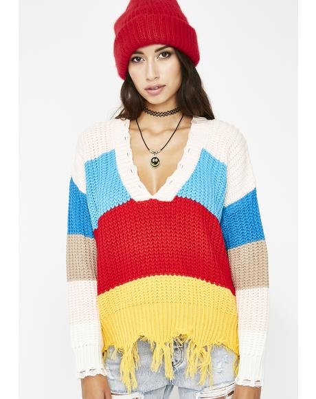 Lollipop Gangsta Knit Sweater
