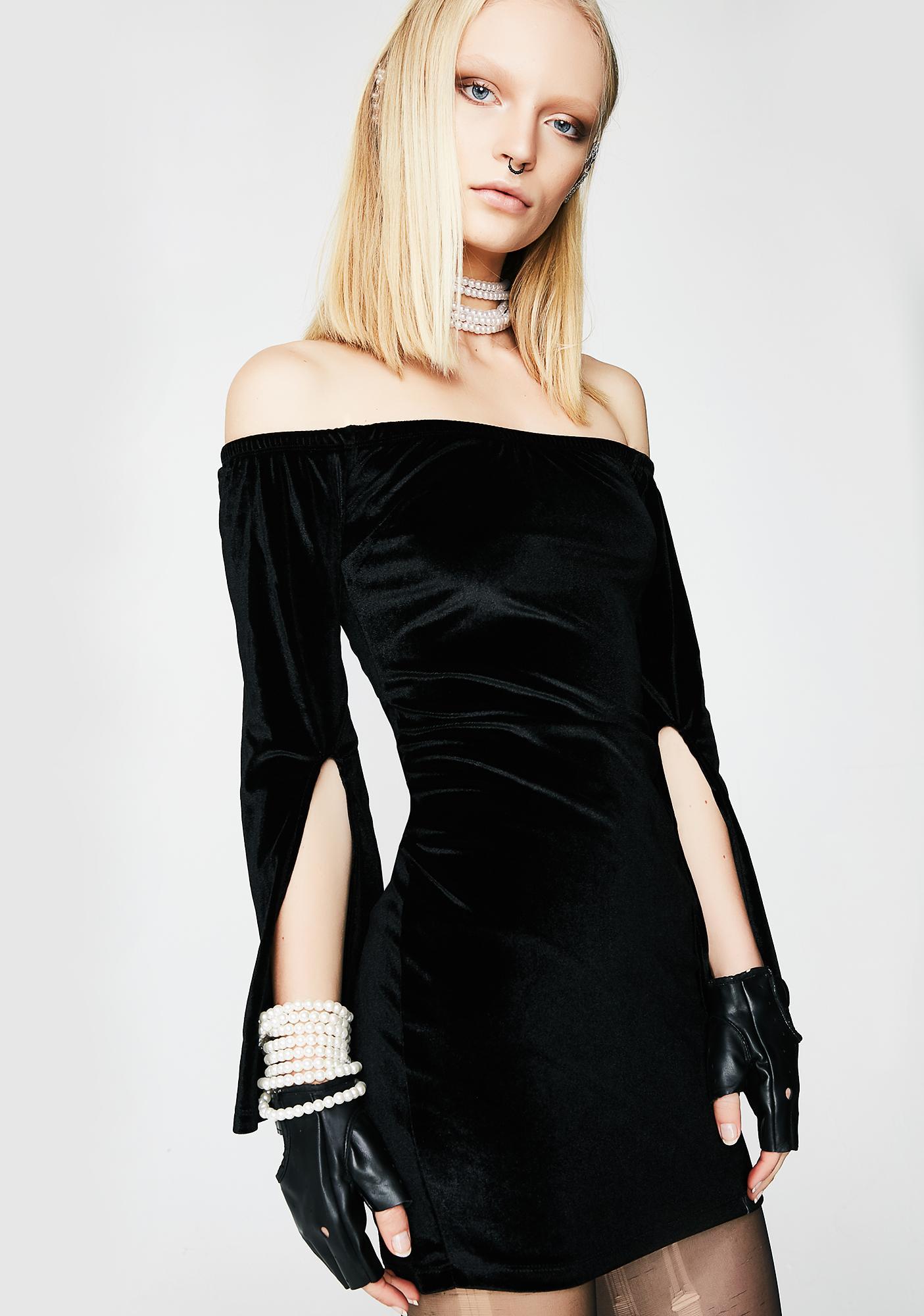 Fancy Romance Choker Dress