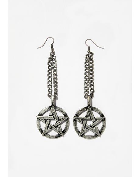 Craft Sister Chain Earrings