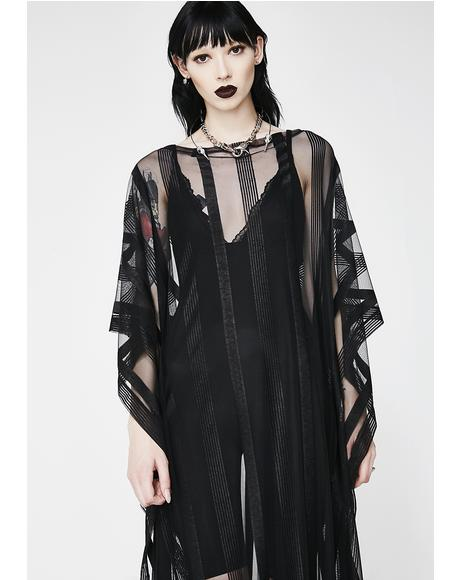 The Supreme Sheer Maxi Dress