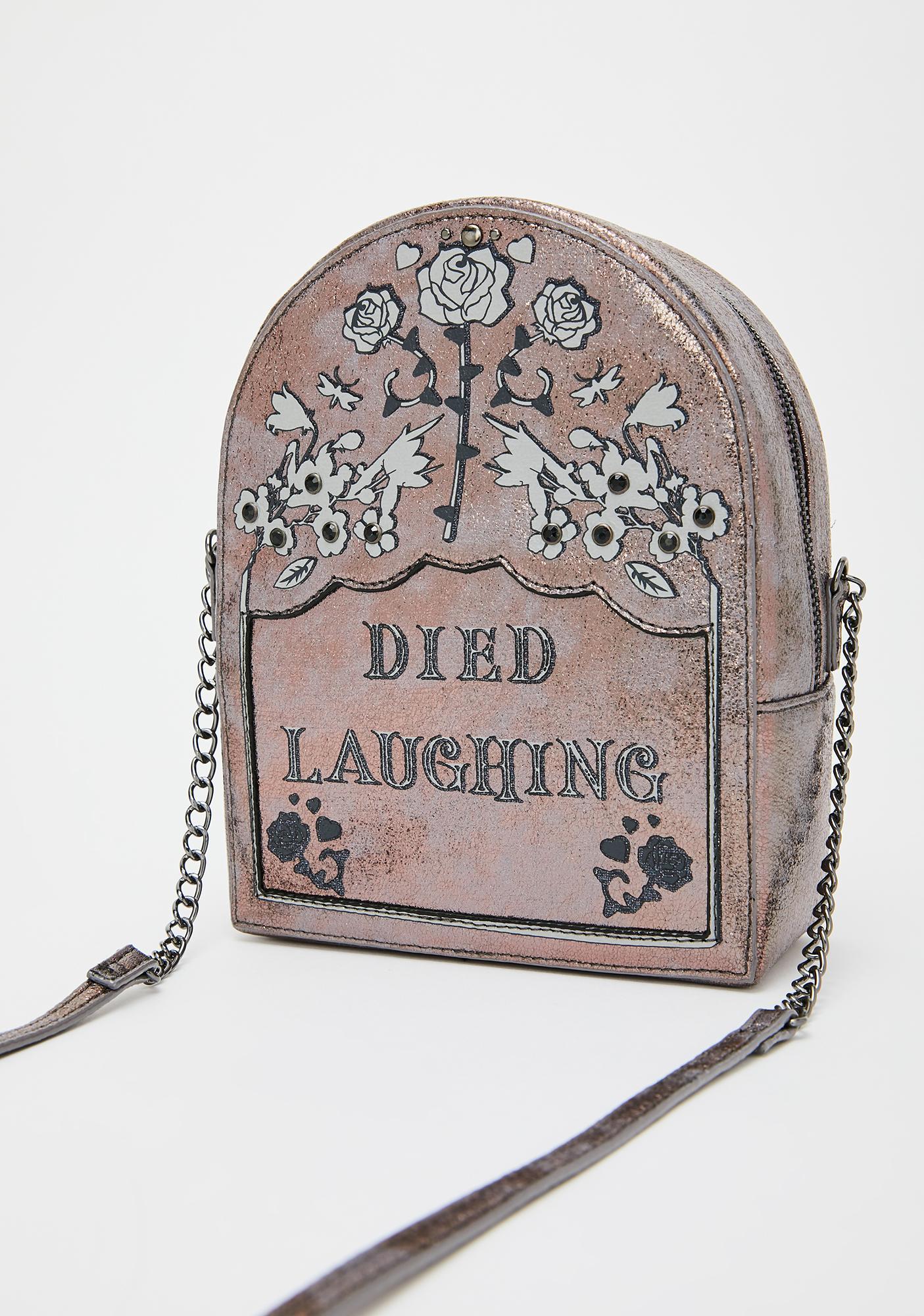 Betsey Johnson Tomb Much Fun Crossbody Bag