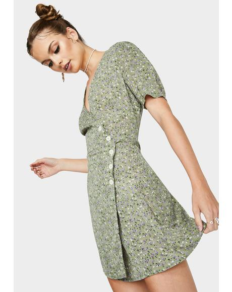 Fern You're The Sweetest Wrap Dress