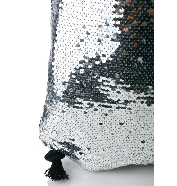 Glitz Getta Sequin Backpack
