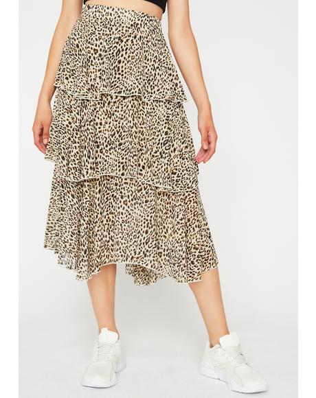 Hella Savage Midi Skirt