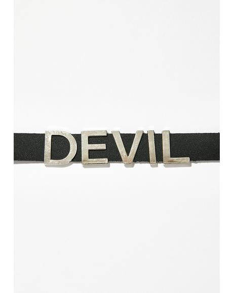 Devilz Candy Choker