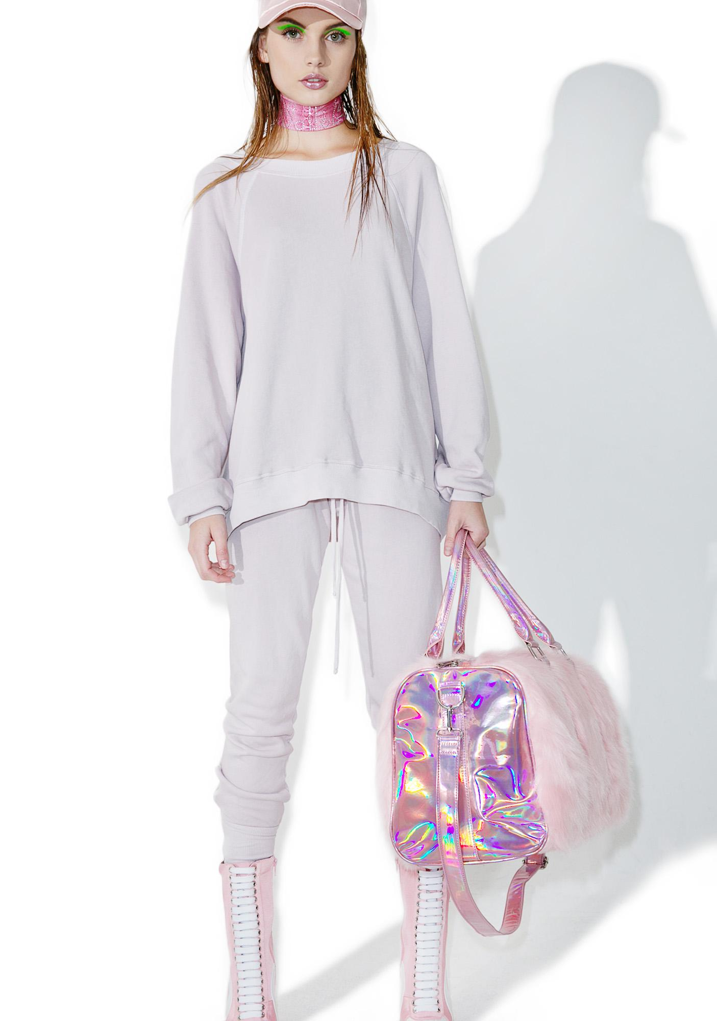 Wildfox Couture Lilac Dawn Sommer's Sweater