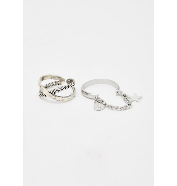 Conflict Resolution Chain Ring Set