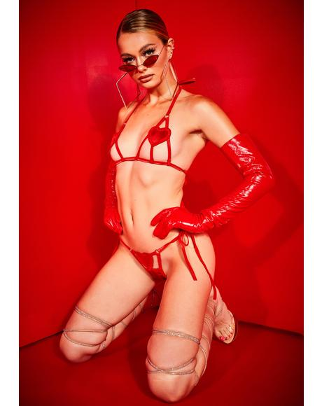 Scarlet Professional Heartbreaker Lingerie Set