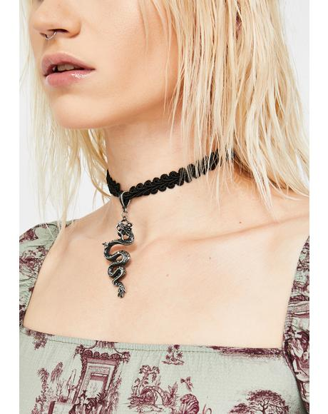 Don't Hiss Me Off Choker