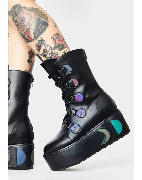 Mystik Reflective Boots