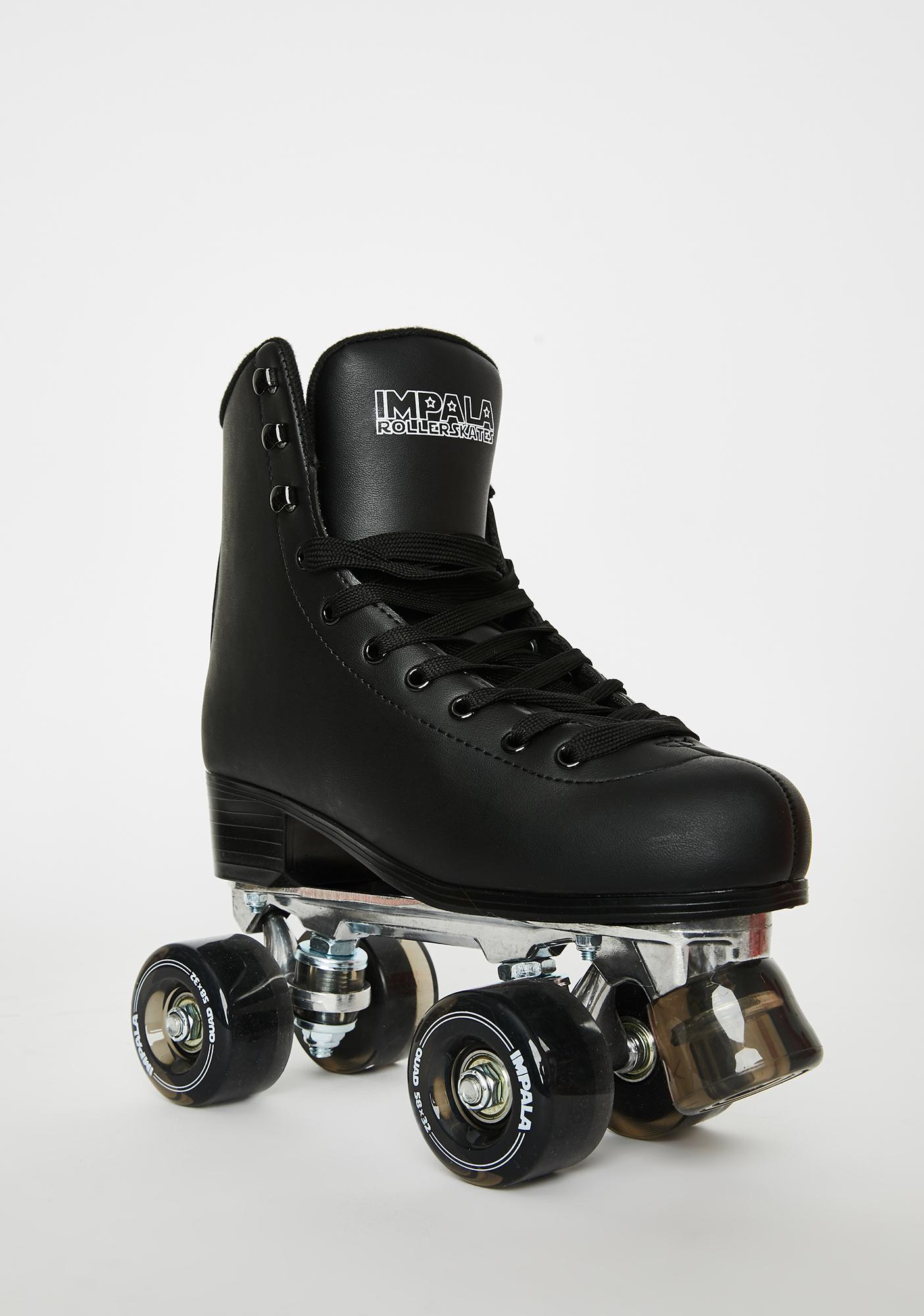 Impala Rollerskates Black Impala Quad Skates
