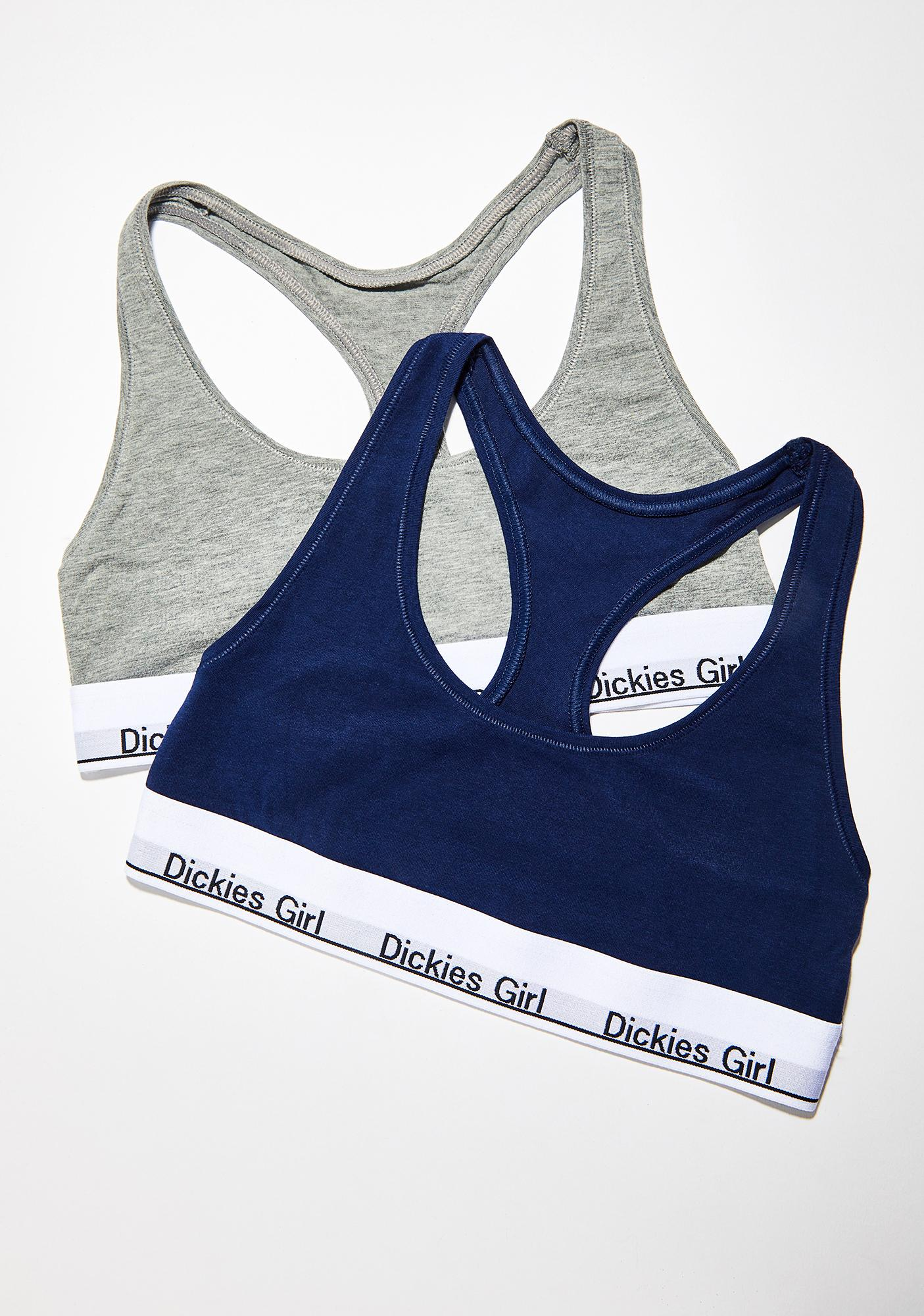Dickies Girl Stoned Racerback Bralette 2-Pack
