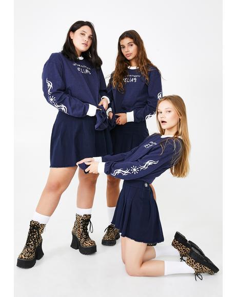 Schoolgirl Clique Mini Skirt