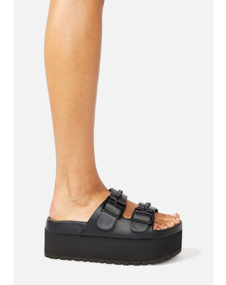 Pico Platform Slide Sandals