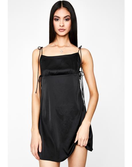Chic Confessions Satin Dress