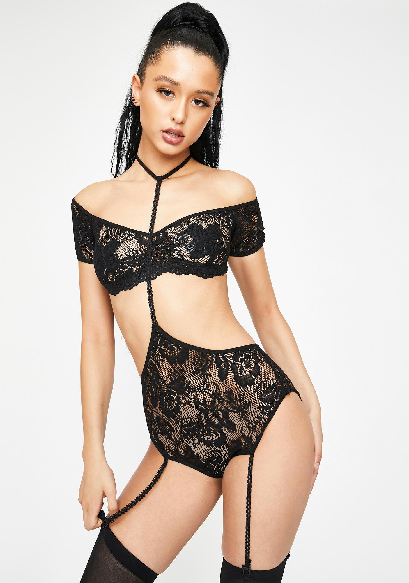 Can't Say Goodbye Lace Set
