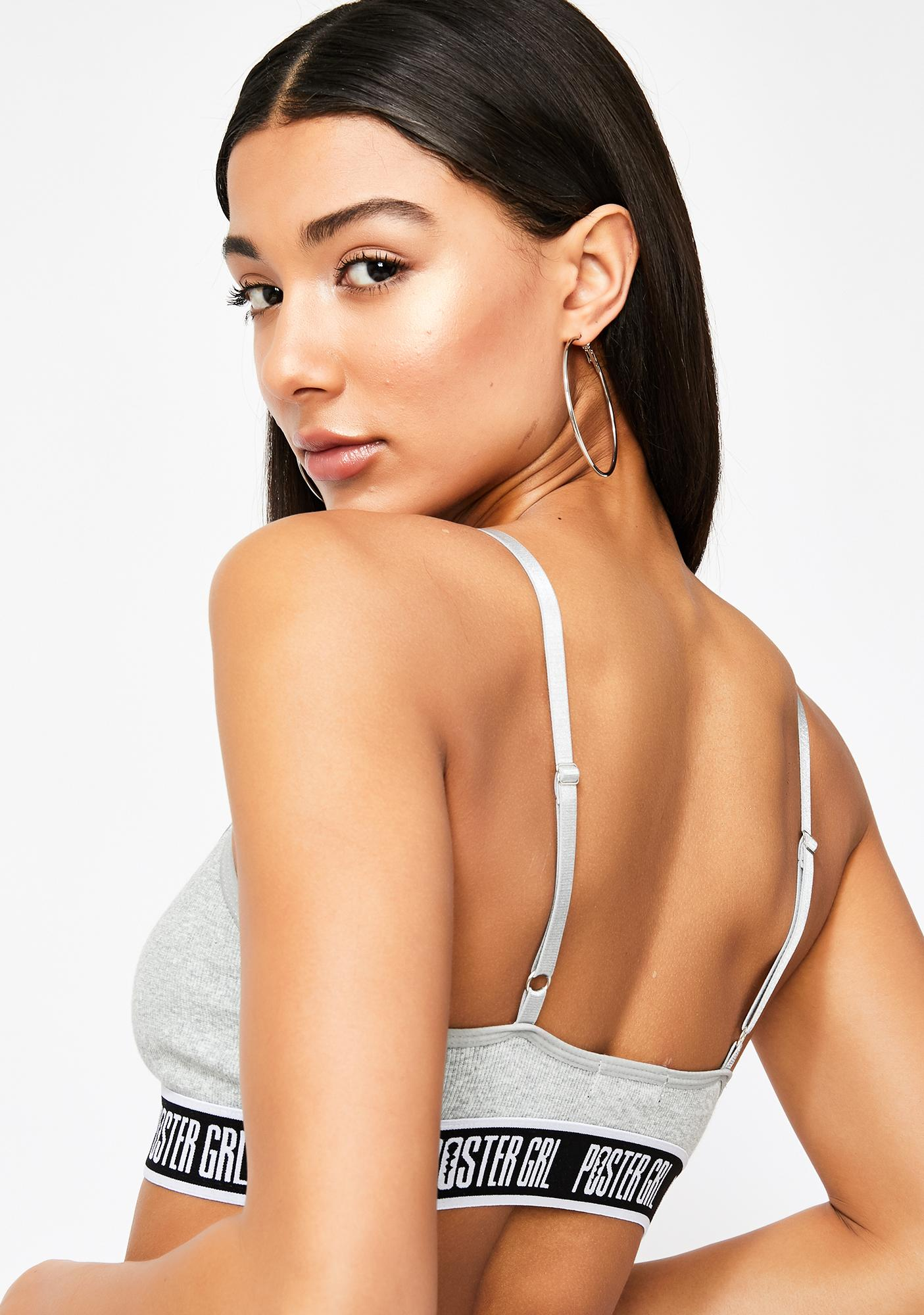 Poster Grl Boss Mode Strappy Bra