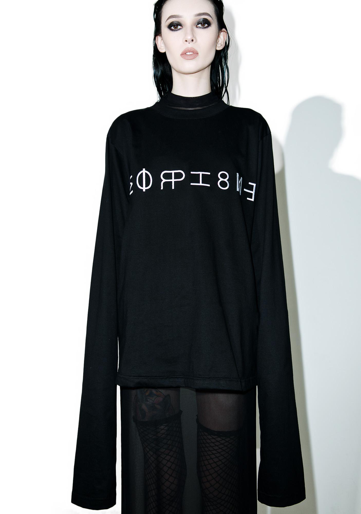 Morph8ne Controller Sweater Dolls Kill Obey Short Circuit Tshirt