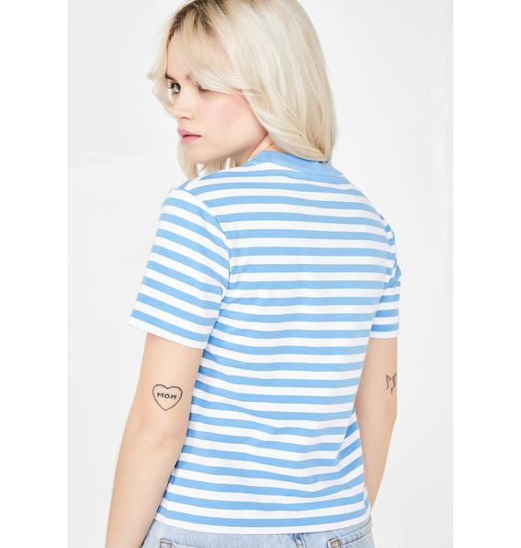 Lazy Oaf Stripy Blobfish T-Shirt