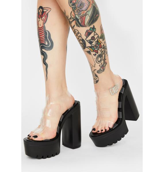 Let Me Clarify Platform Heels