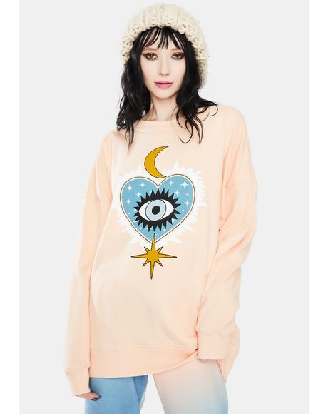 Good Eye Roadtrip Crewneck Sweatshirt