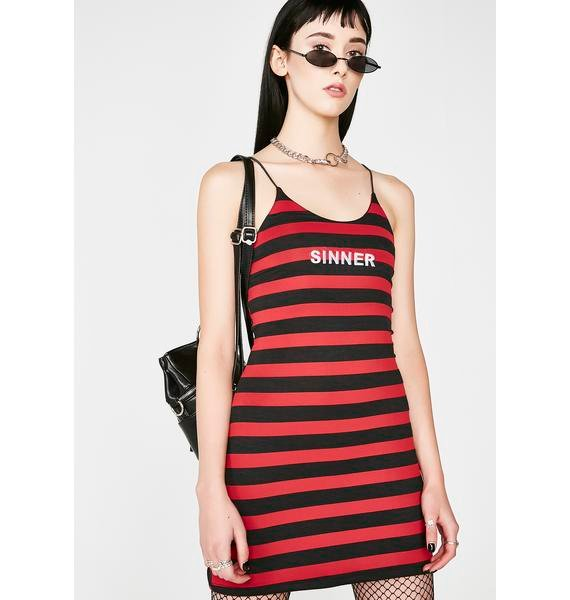 O Mighty The Sinner Skinny Dress