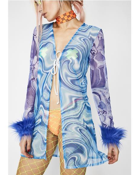 Microdosed Trippy Kimono