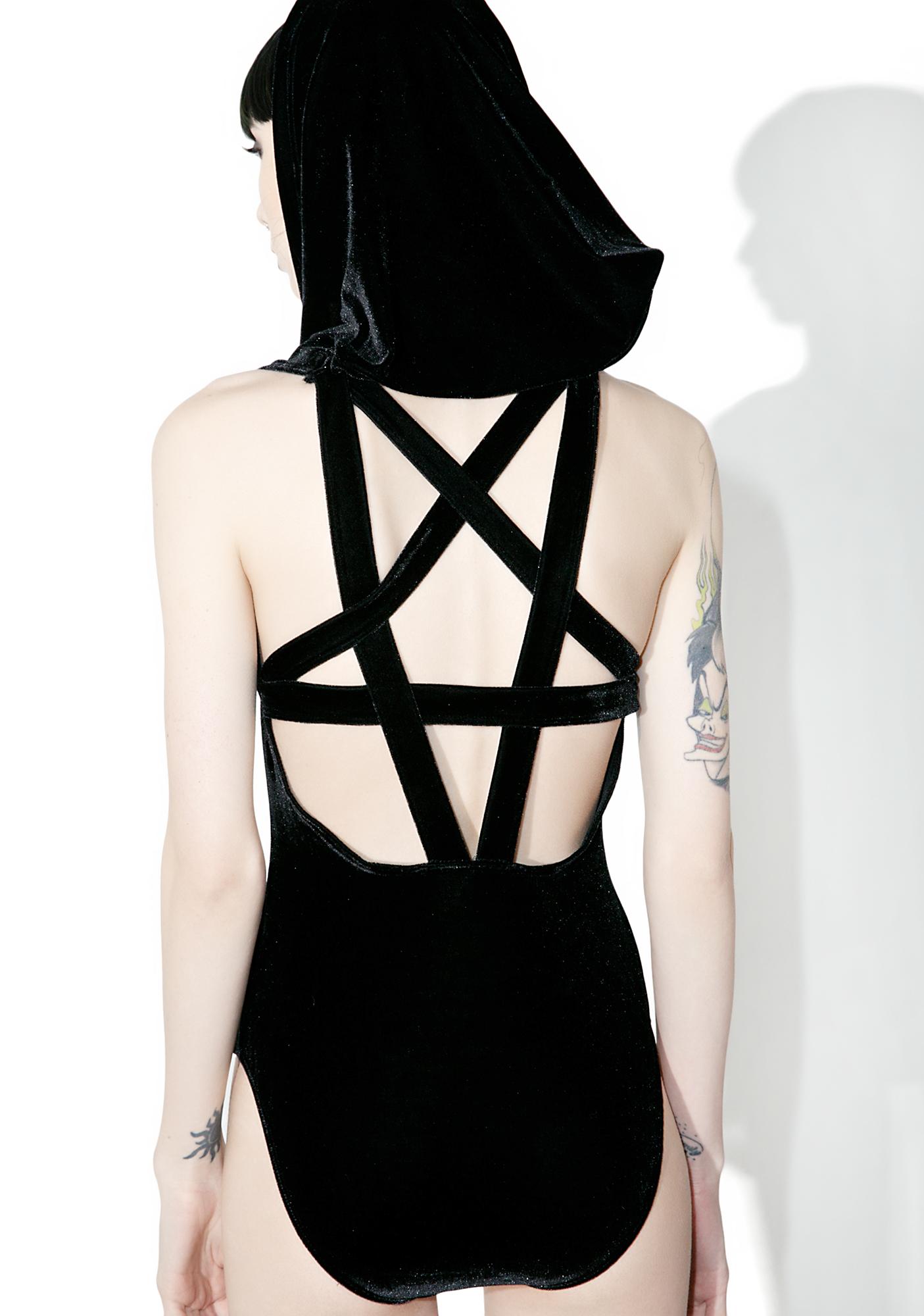 Killstar Babylon Velvet Bae Bodysuit