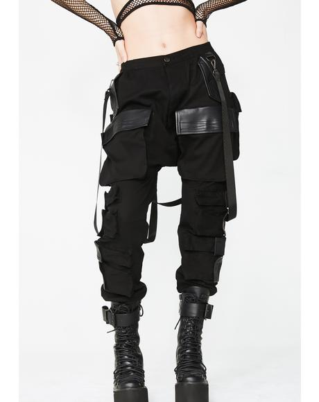 Commander Smoke Unisexx Cargo Pants