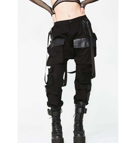 Club Exx Commander Smoke Unisexx Cargo Pants