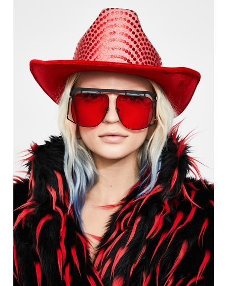 Ultimate Vibe Aviator Sunglasses