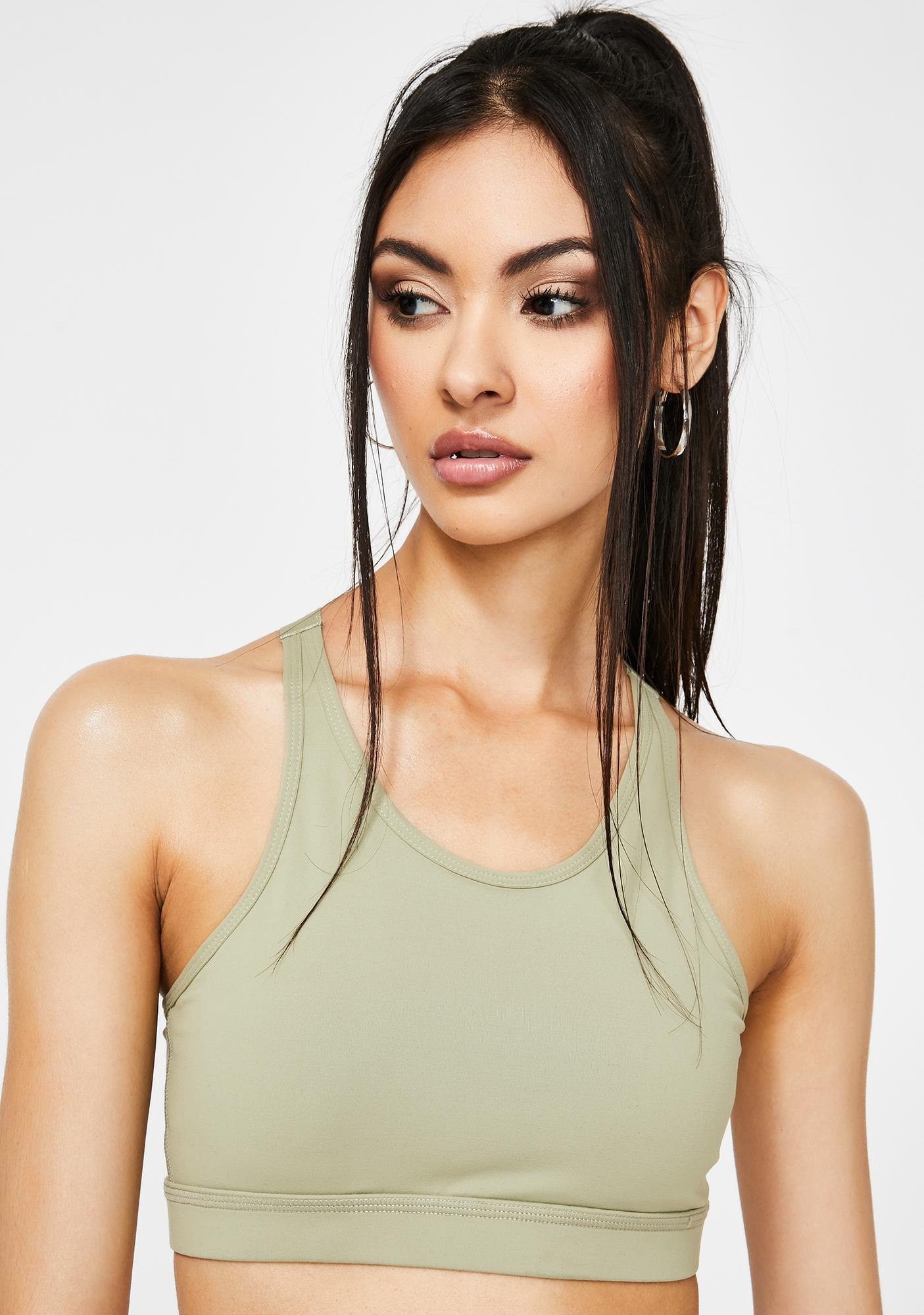 Zen Moves Sports Bra by Dolls Kill