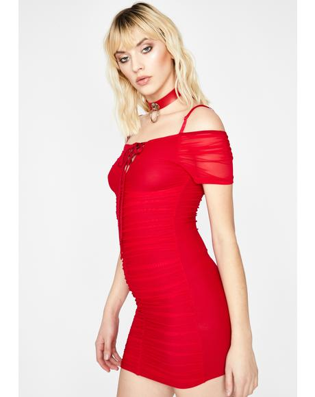 Hot Divine Thang Mini Dress