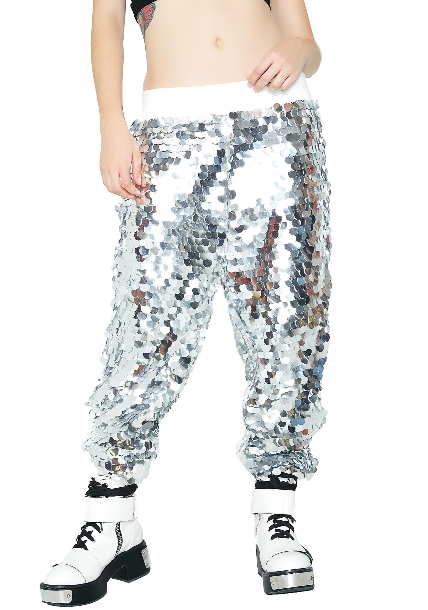 Speed Of Light Sequin Joggers