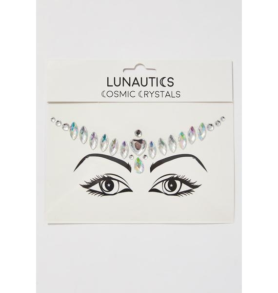 Lunautics Love Cosmic Face Crystals
