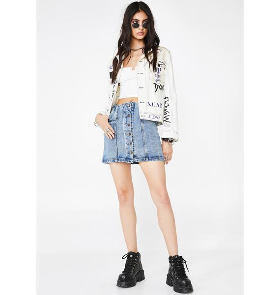 Hawt Habits Denim Skirt